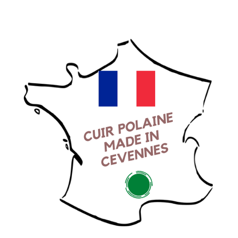 Logo Cuir Polaine artisan français
