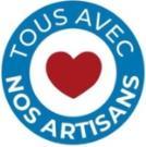 Logo tous avec nos artisans